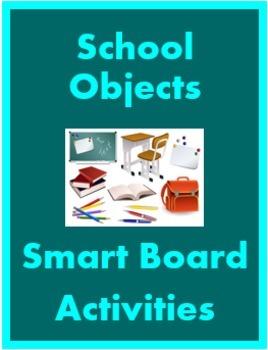 Articoli di cancelleria (School Objects in Italian) Smartboard Activities