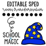 School of Magic- Sped Room Transformation and Data Collection