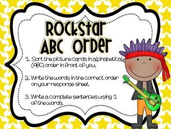 School of Rock :  Rockstar Literacy Stations/Centers