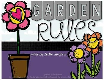 Garden Rules