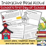 School's First Day of School Interactive Read Aloud