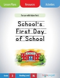 School's First Day of School Lesson Plans & Activities Package, Third Grade