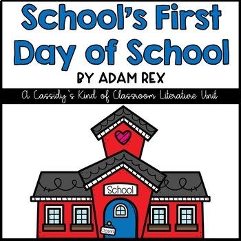 School's First Day of School Literature Unit