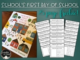 School's First Day of School Point of View FREEBIE!