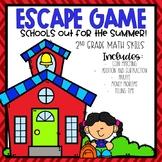 School's Out Escape Room 2nd Grade Math Skills