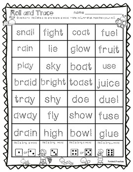 School's Out For Summer:  A Word Work Review Packet