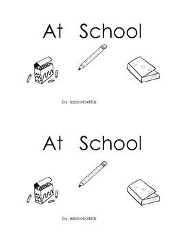 School sight words book
