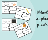 School supplies Puzzle