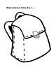 School supplies Sac à dos