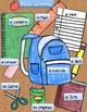 School supplies vocabulary sheet-Spanish