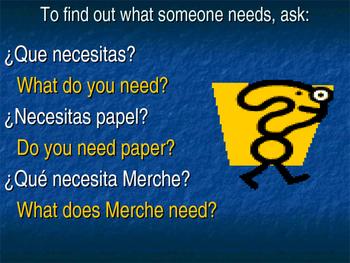 School supplies, wants and needs