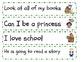 School themed Punctuation Sort