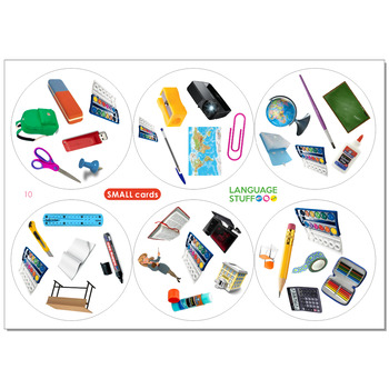 School things 4 in 1