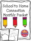 School to Home Connection Packet