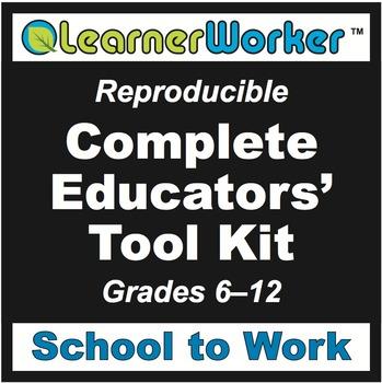School to Work Educators' Tool Kit