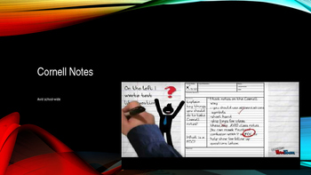 School wide ppt for training students on cornell notes, AVID aligned