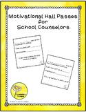SchoolCounselor Motivational Hall Pass Bundle