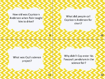 Schooled Novel Book Task Cards Small Group Center Stations Game