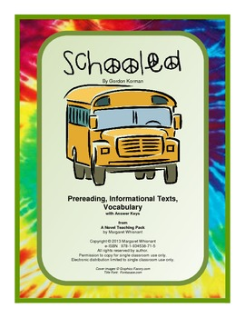Schooled: Prereading/Informational Texts/Vocabulary--CCSS Aligned