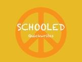 Schooled - Quickwrite Journal Prompts - PowerPoint