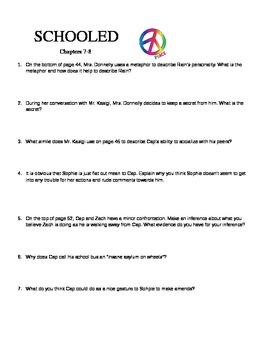Schooled Study Guide