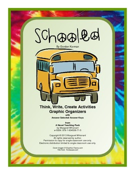 Schooled:  Think,Write,Create Activities with Graphic Organizers (CCSS Aligned)