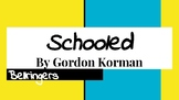 Schooled by Gordon Korman Bell Ringers
