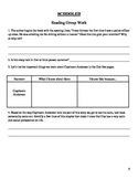 Schooled by Gordon Korman Guided Reading Packet