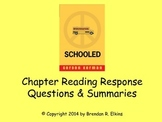 Schooled by Gordon Korman Reading Response Questions