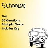 Schooled by Gordon Korman Test NEW!