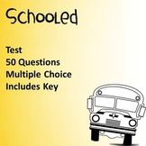 Schooled by Gordon Korman Test EDITABLE!