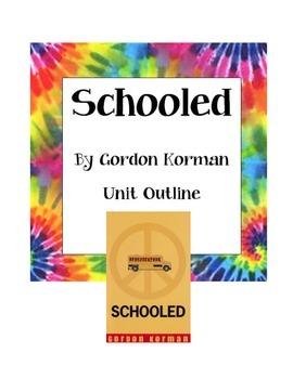 Schooled by Gordon Korman Unit Outline