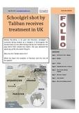 Schoolgirl shot by Taliban Folio - Current Affairs