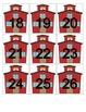 Schoolhouse Calendar Cards