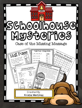 Math Review Breakout Challenge {Schoolhouse Mysteries #1}