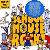 Schoolhouse Rock Bundle (Grammar and America) Fill-In Activities