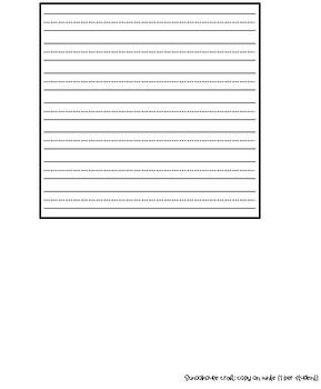Schoolhouse Writing & Craftivity (September memory book) - 2 writing versions
