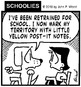 Schoolies #3 B & W Cartoon Collection for School and Classroom Use