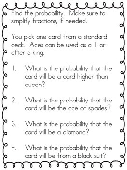 """Schooling the Odds"" Probability Stations"