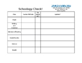 Schoology Check for Students - Beginning of the School yea