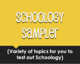 Schoology Sampler for Distance Learning