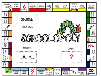 Schoolopoly - Grade 2