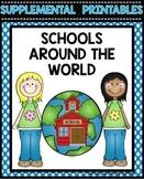 Schools Around the World Journeys Worksheets