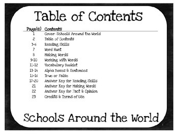 Schools Around the World: 3rd Grade Harcourt Storytown Lesson 3