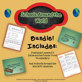 Schools Around the World Bundle
