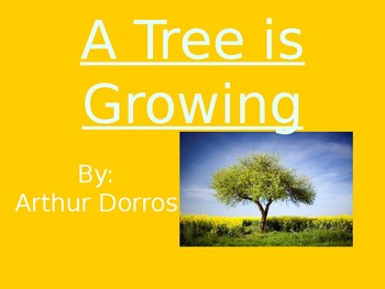 A Tree is Growing - Genre & Purpose