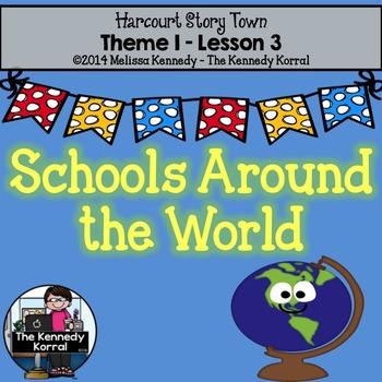 Schools Around The World Storytown Worksheets Teaching