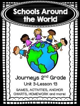 Schools Around the World Journeys 2nd Grade (Unit 3 Lesson 13)