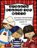 Schools Around the World Journey's Activities - Second Grade Lesson 13