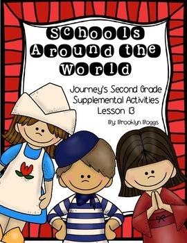 Schools Around the World Journey's Activities - Second Gra